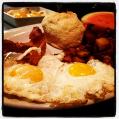 Breakfast at Hash House a Go Go