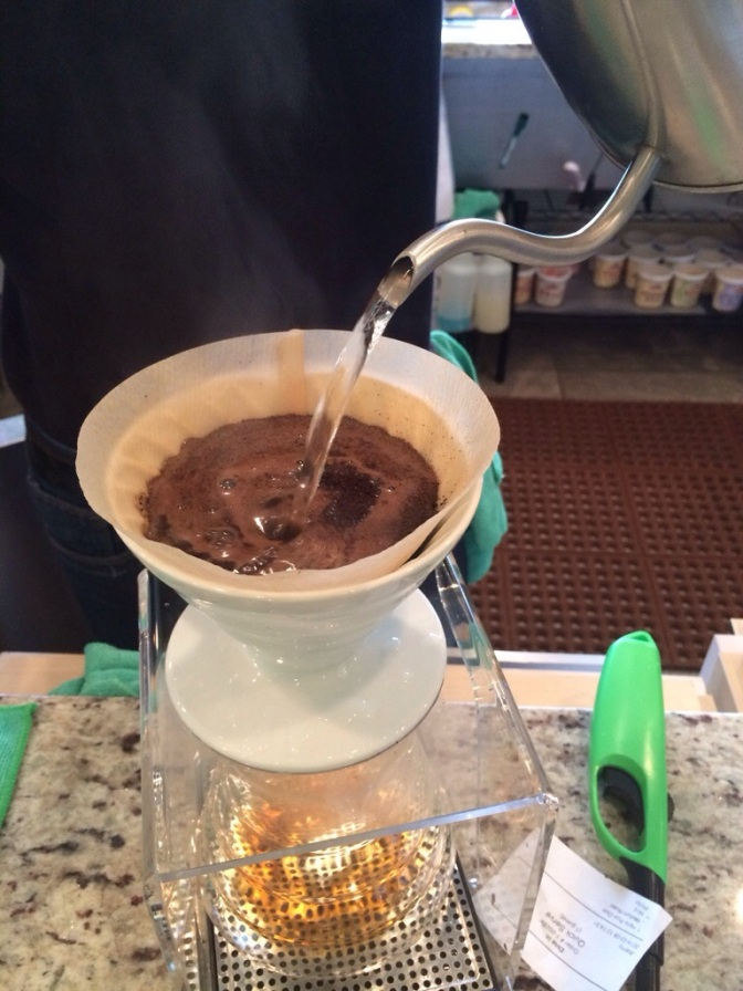 Like your coffee black? Hario Pour Over @ Sip Stir Cafe
