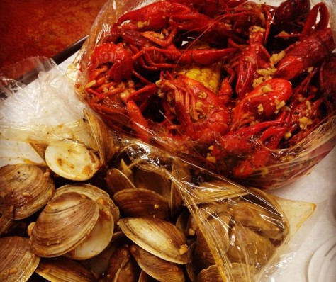 Photo Courtesy of Tasty Tails. Craws and Clams!