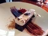 Chocolate, smores cake