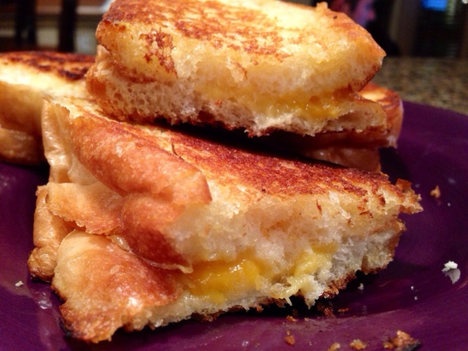 How are you celebrating National Grilled Cheese Day?