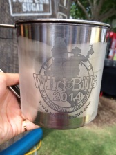 Souvenir cup from Wild Bills. Unlimited refills.