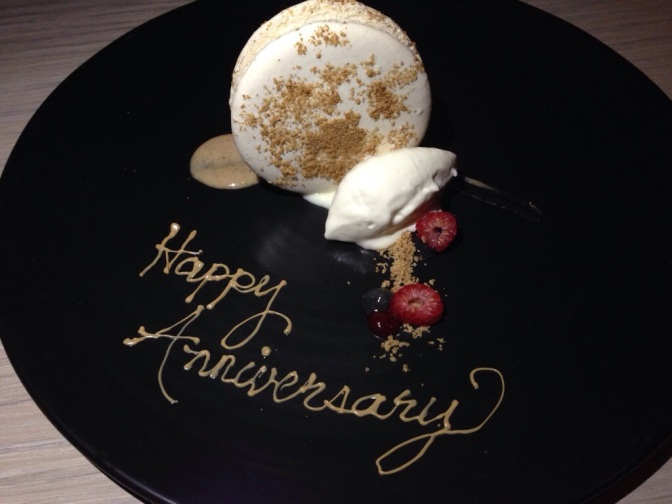 Anniversary Dinner at Knife Modern Steakhouse