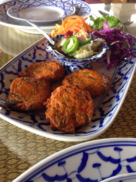 Tod Man or Thai Fish Cakes from Ruang Thai