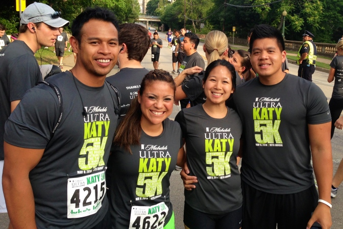 Had a blast at the 2014 Katy Trail 5K