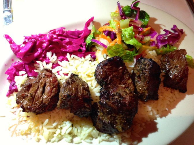 Lamb and Beef Shish at Pera Turkish Kitchen