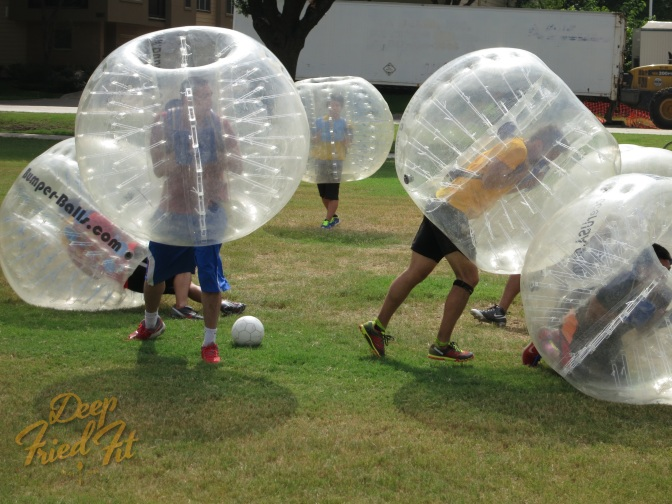 Birthday Bubble Soccer at Cole Park